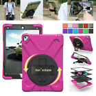 """Heavy Duty Shock Proof Military Hard Case Stand Cover For iPad Mini & Pro 10.5"""""""