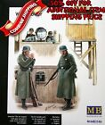 Master Box 3546 WWII Watchtower with Searchlight and Phone/4Fig plastic kit 1/35