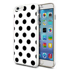 For Various Phones Design Hard Back Case Cover Skin - Black Dots