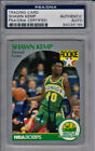 Shawn Kemp signed 90-91 Seattle NBA Hoops RC Trading Card #279- PSA #84035166