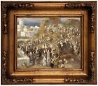Renoir The Mosque 1881 Wood Framed Canvas Print Repro 8x10