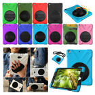 Shock Proof Heavy Duty Hard Case Cover Stand For iPad 4 3 2 & Air & 5th Gen 9.7""