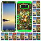 For Samsung Galaxy Note 8 - KoolKase Hybrid Cover Case - Camo Mossy Deer