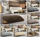 Floor Cushion Pet Bed Multi Purpose Small Large Fur Animal Print Soft Anti Slip