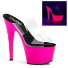 "Hot Sexy Exotic Dancing Clubwear 7"" Platform Party Sandal. Pleaser ADORE-702UV"