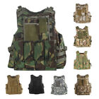 UltraGuards Tactical Airsoft Paintball MOLLE Plate Carrier Combat Play Vest