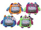 iPad Tablet Holder Monster Party Plush Crazy Kids Funny Colourful Soft Cushions