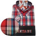 Warrior UK England Button Down Shirt MCCALLUM Hemd Slim-Fit Skinhead Mod