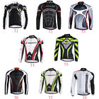 New Men Racing Bike Clothing Tops Fall MTB Cycling Spinning Bicycle Sports Wear