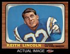 1966 Topps #127 Keith Lincoln Chargers EX/MT $12.0 USD
