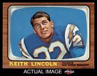 1966 Topps #127 Keith Lincoln Chargers EX/MT $10.0 USD