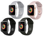 New Apple Watch Series 3 38mm Smartwatch GPS Aluminum Case Sport Band