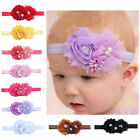 New Baby Girl Kid Headband Toddler Infant Elastic Hair Bow Band Headwear 1pc
