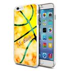 Personalised Premium Hard Case Cover for Mobiles - Yellow Mix Marble 80