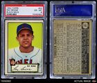 1952 Topps #55 Ray Boone -  Indians PSA 6 - EX/MT