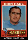 1971 Topps #255 John Hadl Chargers NM $13.0 USD on eBay