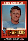 1971 Topps #172 Gary Garrison Chargers EX/MT $4.0 USD