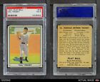 1941 Play Ball #16 Hal Trosky Indians PSA 3 - VG