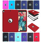 Hybrid Rugged Hard Silicone Case Shockproof Protective Cover Skin For Apple iPad