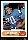 1968 Topps #19 Keith Lincoln Bills EX $1.45 USD