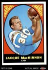 1967 Topps #124 Jacque MacKinnon Chargers EX/MT $5.25 USD
