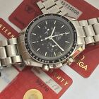 OMEGA SPEEDMASTER MOON WATCH CHRONOGRAPH SAPHIRE SANDWICH REF 35735000 w/papers