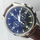 OMEGA RAILMASTER COAXIAL  42 MM  AUTOMATIC  CHRONOGRAPH SAPHIRE BOX AND PAPERS