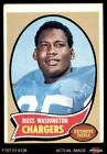 1970 Topps #206 Russ Washington Chargers GOOD $0.99 USD