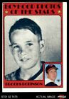 1972 Topps 498 Brooks Robinson Boyhood Photo Orioles VG