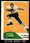 1960 Fleer #76 Paul Lowe Chargers VG $8.5 USD