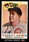 1960 Topps #217 Charley Grimm   -  Cubs NM/MT