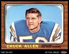 1966 Topps #118 Chuck Allen Chargers EX/MT $12.5 USD