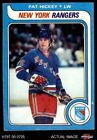 1979 Topps #86 Pat Hickey Maple Leafs VG/EX