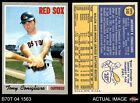 1970 Topps #340 Tony Conigliaro -  Red Sox NM
