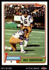 1981 Topps #242 Rolf Benirschke -  Chargers NM/MT $0.99 USD