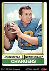 #150 Johnny Unitas Chargers VG $2.7 USD
