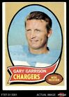 1970 Topps #23 Gary Garrison Chargers VG/EX $0.99 USD on eBay