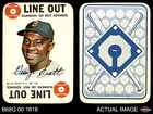 1968 Topps Game #22  George Scott  Red Sox EX