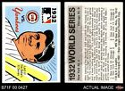 1971 Fleer World Series #30 1932 Yankees / Cubs (Babe Ruth) - 1971 Fleer Wor EX