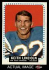 1964 Topps #164 Keith Lincoln Chargers NM $39.5 USD