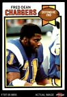 1979 Topps #152 Fred Dean Chargers LA Tech 7 - NM $2.75 USD on eBay