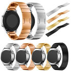 Stainless Steel Watch Band Strap Metal Clasp For Fossil Q Founder/Wander/Marshal