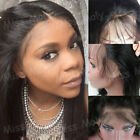 8A Hot Brazilian Virgin Human Hair Wig Lace Front Wig Long Yaki Straight 1B BF40