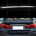 Matte Tail Rear Trunk Door Tailgate Logo Cover Trim For BMW 5 Series G30 17-2018