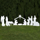 Outdoor Nativity Store Complete Outdoor Nativity Set (White)