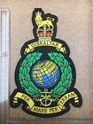 Embroidered Royal Marine Globe & Laurel Large Patch