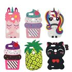 Rainbow Unicorn Cat Pineapple case ZTE Blade Z Max / ZMax Pro 2 / Sequoia / Z982