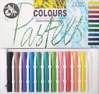 Jakar Artists Compressed Charcoal Pastels Stick Sets Coloured White Black Chalk