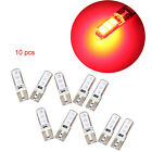 1/2/5/10Pcs T10 5050 6 SMD Silicone LED Car Dome Map Side Wedge Light Waterproof