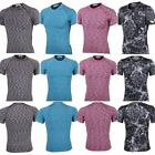 Mens Short Sleeve Compression Shirt Gym Fitness Base Layers Running Tights